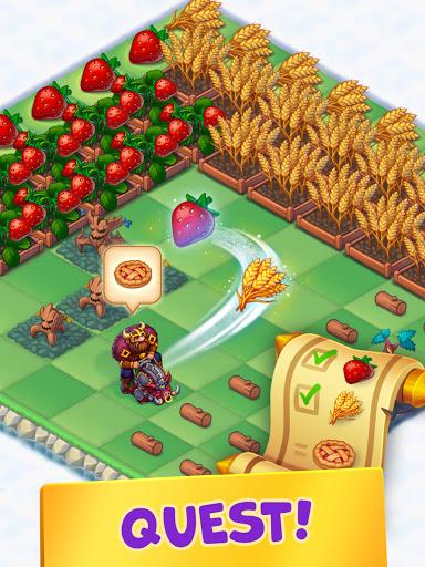 Mergest Kingdom: Merge Puzzle apkpoly screenshots 16