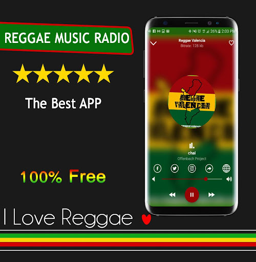 Reggae Music Free screenshot 10
