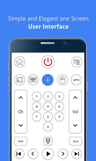 Remote for Sony Bravia TV - Android TV Remote 1.1 Screenshots 4