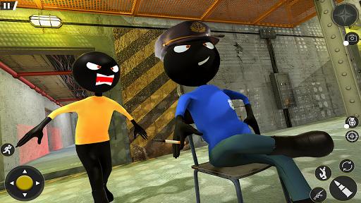 monster stickman jail escape: stickman prison game screenshot 2