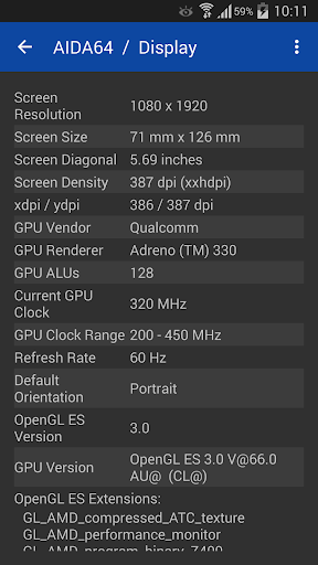 AIDA64 android2mod screenshots 4