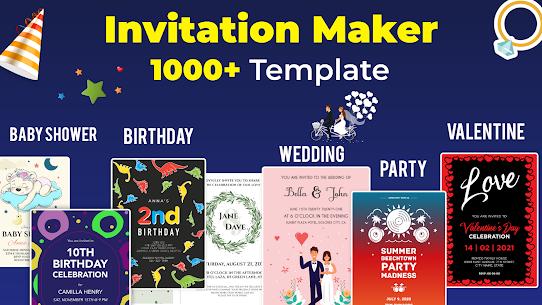 Invitation Maker Free – Birthday  Wedding Card Apk 1