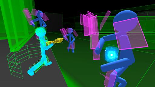 Stickman Neon Gun Warriors Apkfinish screenshots 2