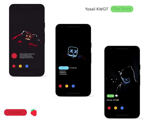 yossli  kwgt screenshot 1