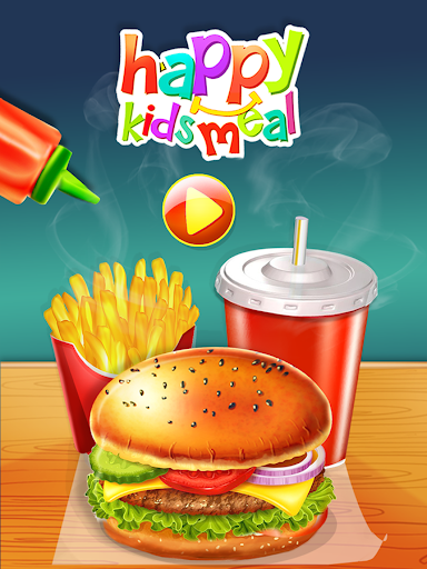 Happy Kids Meal Maker - Burger Cooking Game 1.2.9 screenshots 6
