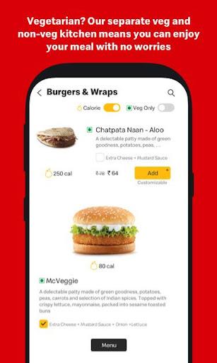 McDelivery- McDonaldu2019s India: Food Delivery App 10.51 Screenshots 6