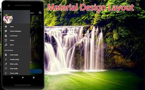 3D Waterfall Wallpaper – Screen Lock, Sensor, Auto 170.GG [Mod + APK] Android 1