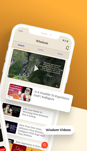 Sadhguru - Yoga, Meditation & Spirituality apktram screenshots 2
