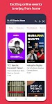 screenshot of BookMyShow - Movie Tickets & Live Events