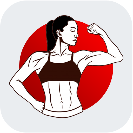 Women Fitness Workout at Home icon