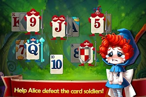 Solitaire in Wonderland - Golf Patience Card Game