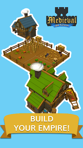 Medieval: Idle Tycoon - Idle Clicker Tycoon Game 1.2.4 screenshots 11