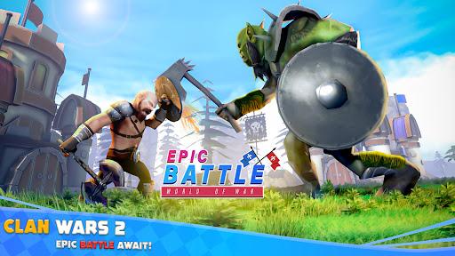 Epic War Simulator - WW2 Battle Strategy Games  screenshots 1
