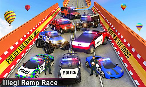 Police Car Stunts Racing: Ramp Car New Stunts Game 2.1.0 Screenshots 6