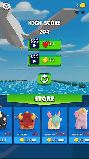 Flying Wings - Run Game with Dragon, Bird, Unicorn 2.1 screenshots 12