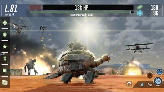 War Tortoise 2 – Idle Exploration Shooter 5