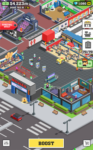 Box Office Tycoon - Idle Movie Management Game goodtube screenshots 23