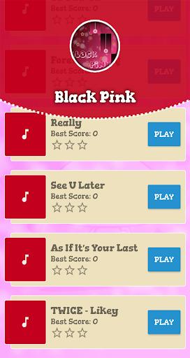 Black Pink Piano Game screenshots 2