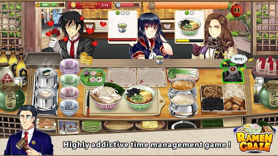 Ramen Craze – Fun Kitchen Cooking Game Mod Apk 1.0.4 (A Lot of Currency) 1