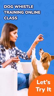 Dog whistle app: Dog clicker & Dog training online