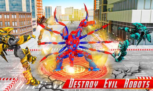 Spider Robot Car Game u2013 Robot Transforming Games android2mod screenshots 2