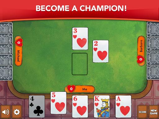 Hearts - Card Game Classic apktram screenshots 10