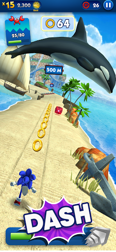 Sonic Dash - Endless Running & Racing Game goodtube screenshots 2
