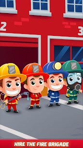 Idle Firefighter Tycoon APK , Fire Emergency Manager APK Download 12