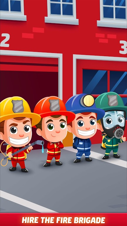 Idle Firefighter Tycoon - Fire Emergency Manager  poster 11