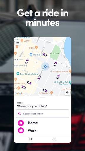 Lyft - Rideshare, Bikes, Scooters & Transit 6.68.31.1611713296 Screenshots 1