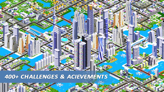 Designer City 2: city building game 1.24 Apk + Mod 4