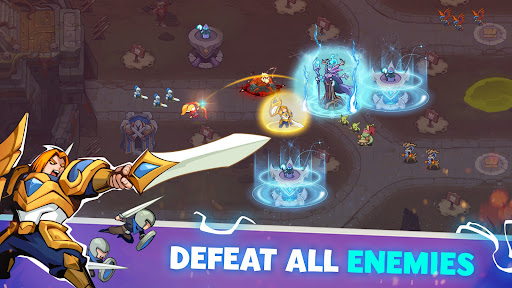 Empire Defender TD: Tower Defense The Kingdom Rush Apkfinish screenshots 8