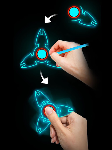 Draw Finger Spinner 1.1.5 screenshots 8
