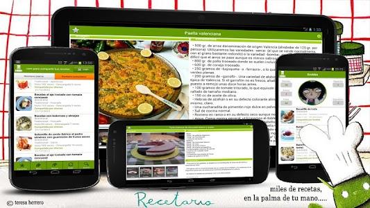 Recetario, recetas de cocina 7.0.2