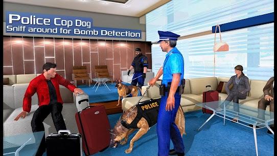 US Police Dog 2019: Airport Crime Shooting Game 1