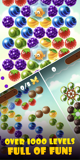 Fruity Cat -  bubble shooter! filehippodl screenshot 4