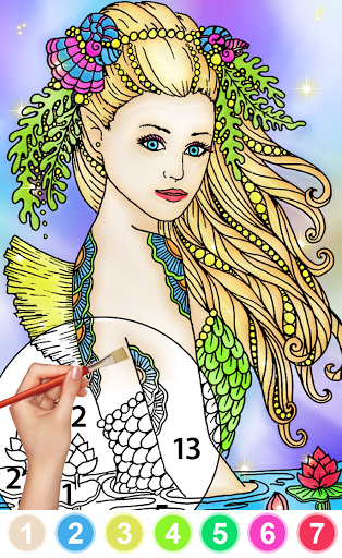 Color By Number & Paint By Number - Coloring Book 6.0 screenshots 7