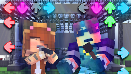 Mod Friday Night Funkin for Minecraft .APK Preview 2