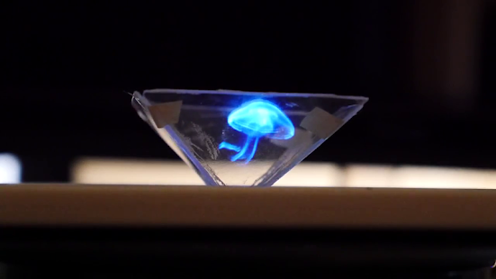 Vyomy 3D Hologramm Projektor Screenshot
