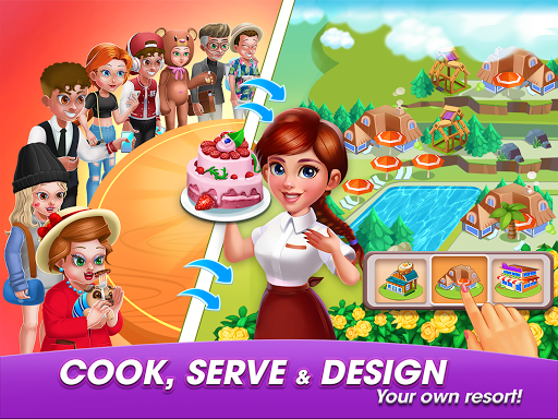 Cooking World: Diary Cooking Games for Girls City 2.1.3 Screenshots 1