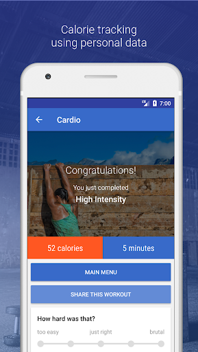 HIIT & Cardio Workout by Fitify 1.6.5 Screenshots 4