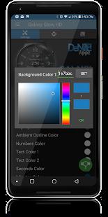 Galaxy Glow HD Watch Face Widget & Live Wallpaper