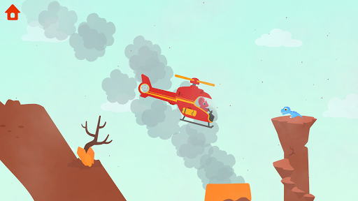 Dinosaur Helicopter - Games for kids  screenshots 3
