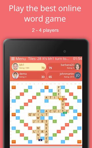 Rackword - Free real-time multiplayer word game screenshots 16