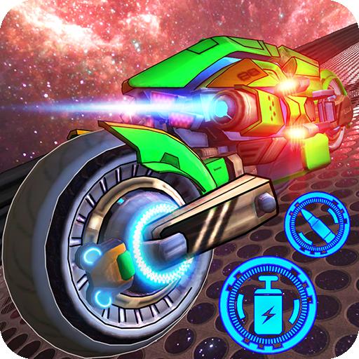 Space Bike Galaxy Race Icon