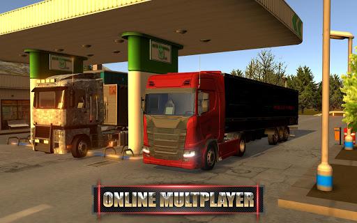 Code Triche Euro Truck Driver - 2018 (Astuce) APK MOD screenshots 3