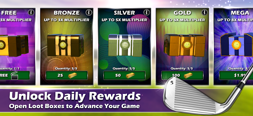 Golden Tee Golf: Online Games screenshots 6