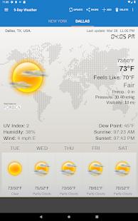 Weather & Clock Widget for Android 6.3.1.2 Screenshots 14