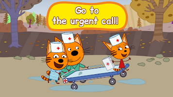 Kid-E-Cats: Hospital for animals. Injections