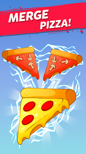 Merge Pizza: Best Yummy Pizza Merger game modiapk screenshots 1